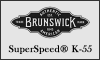 brunswick superspeed k55