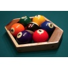 Hardwood 7 ball rack with Aramith Special 7 ball