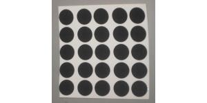 "Snooker Spots (1/2"" diameter) - sheet of 25"