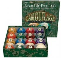 Aramith Camouflage Set – Because Pool is Combat!